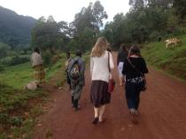 An afternoon stroll in Buhoma