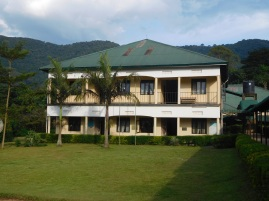 A view of key partner Bwindi Community Hospital