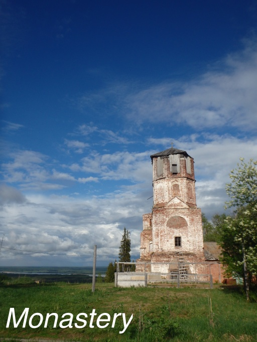Anna in Russia: Monastery