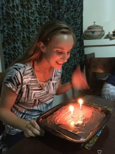 Wishing Nia King a Happy Birthday in Uganda!